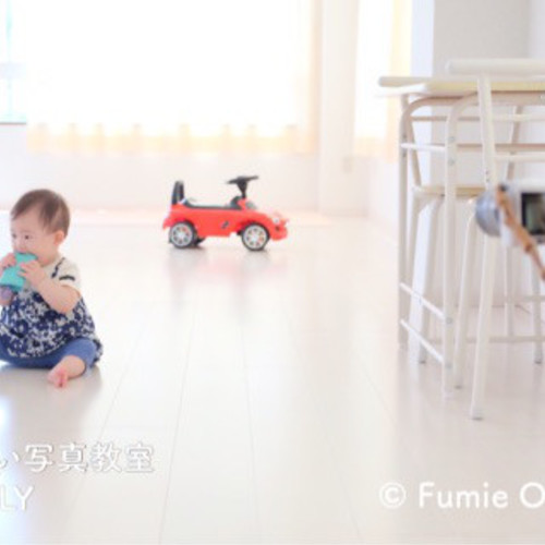 ママのためのやさしい一眼カメラ教室 in cafe nonta (背景をぼかした写真を撮ろう!編)