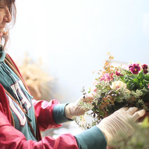 【体験】花のギャザリング寄せ植え教室