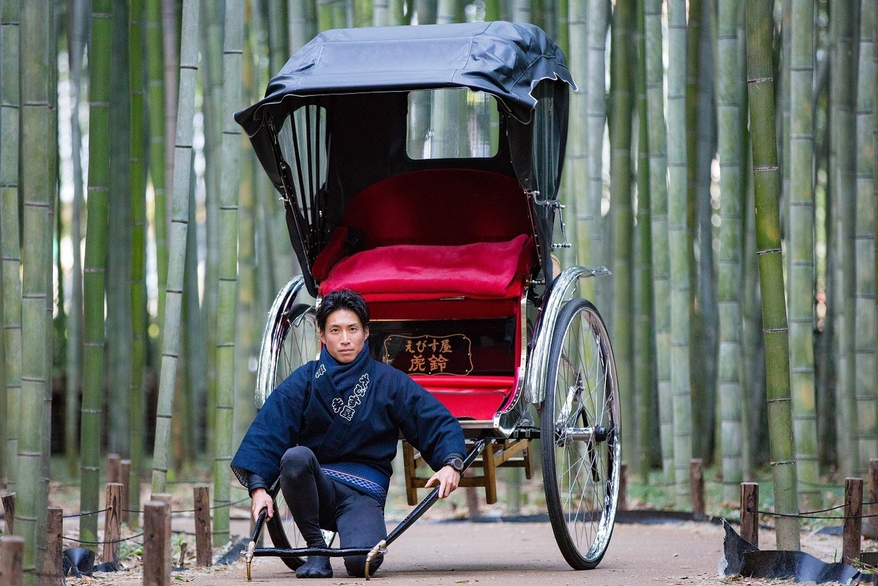 人力車コラボコース rickshaw & Japanese foot spa & foot massage