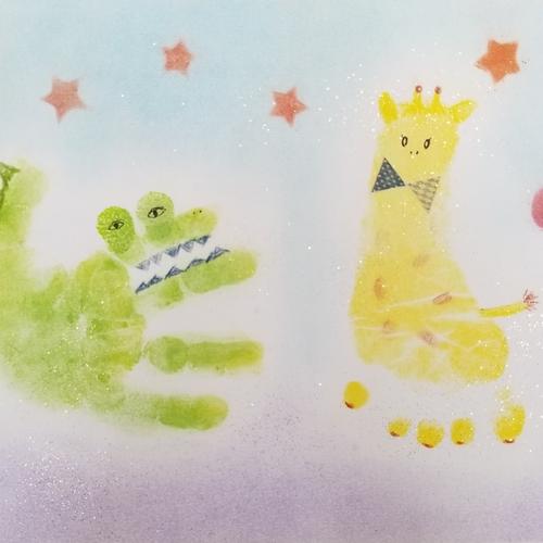 [9/20]神戸*baby手形アート&ファーストカットアートイベント!