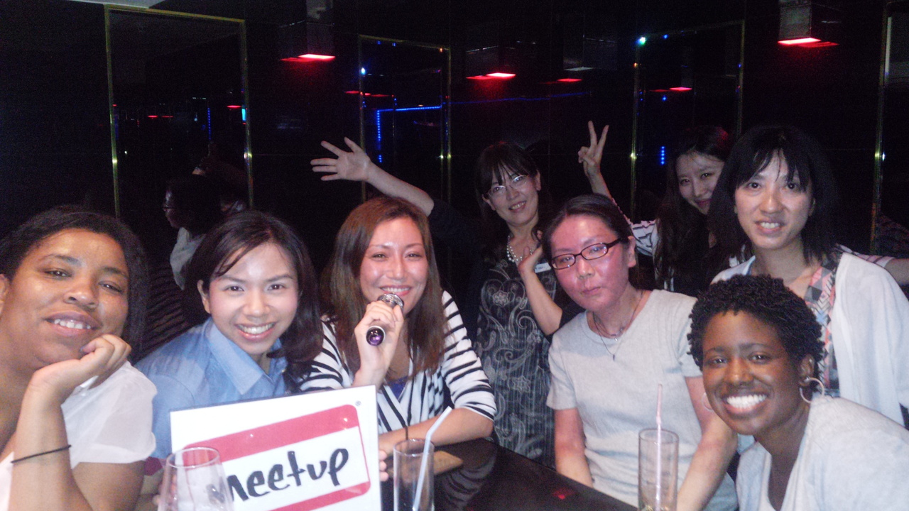 日本人女性予約専用!国際女子会