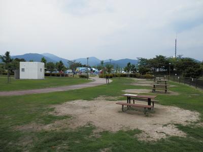 デイキャンプ場サイト