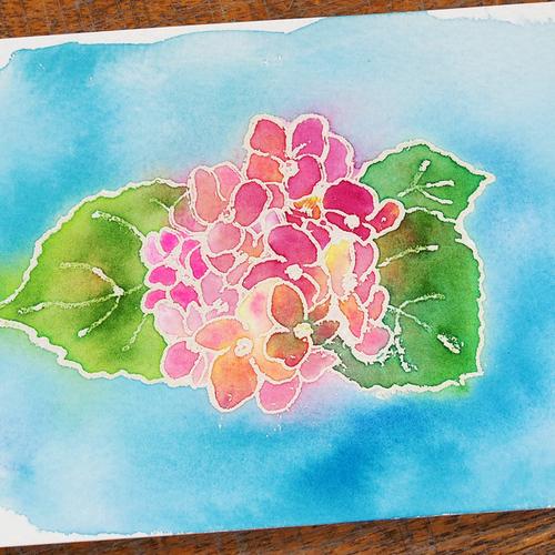 癒やしの透明水彩塗り絵アート ワークショップ in SAPPORO