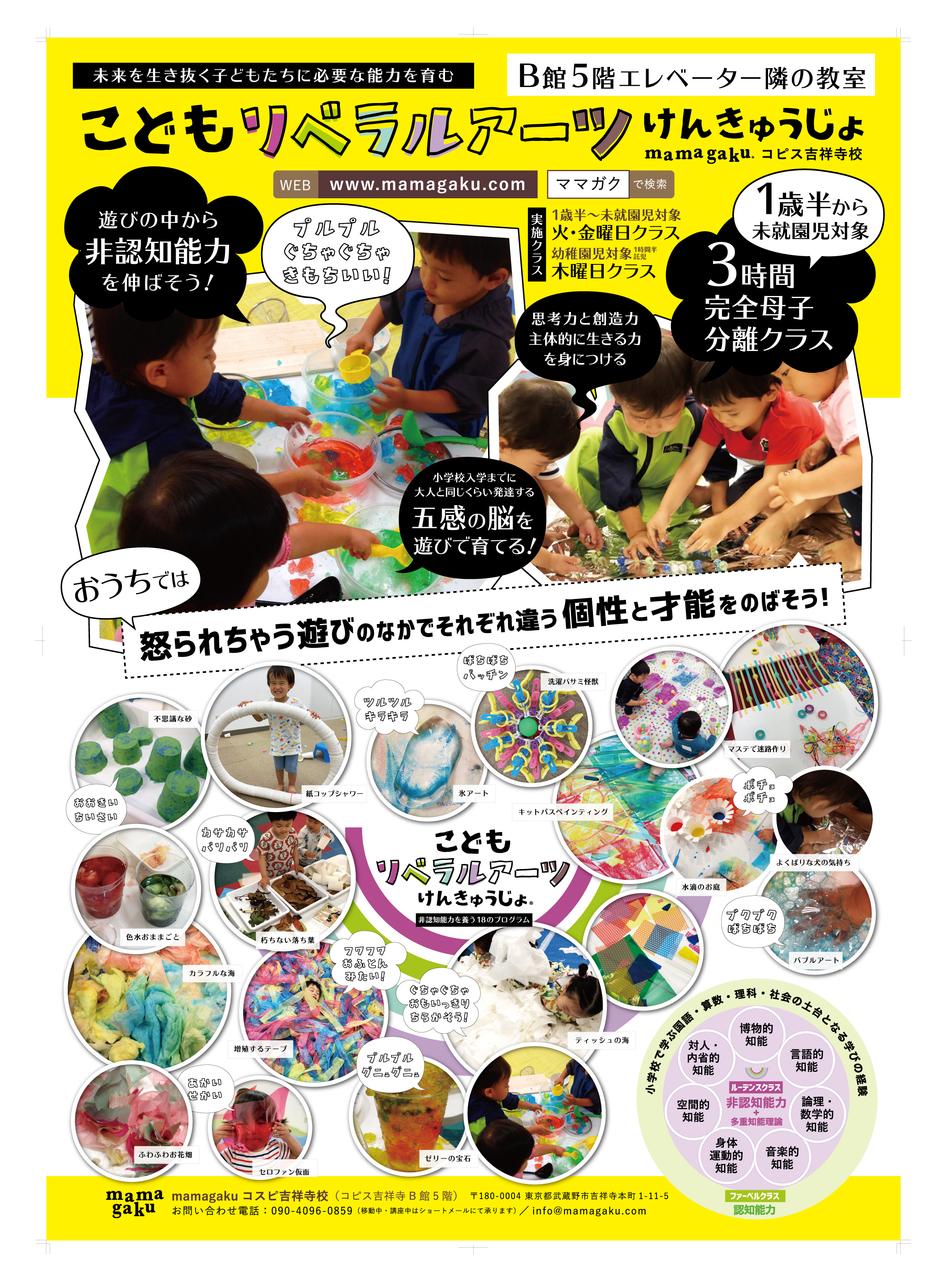 【無料体験会】1歳3ヶ月〜未就園児対象:こどもリベラルアーツけんきゅうじょ