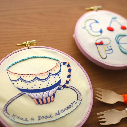 「刺繍CAFE」at EDiTORS 11/25(日)