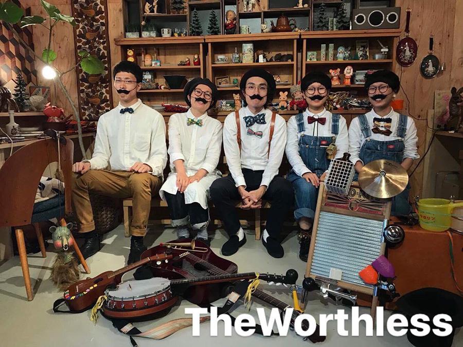 【12/8(土) KIYATA国物語Ⅳ The Worthless「ニジノ音楽会」at 手紙舎 2nd STORY】