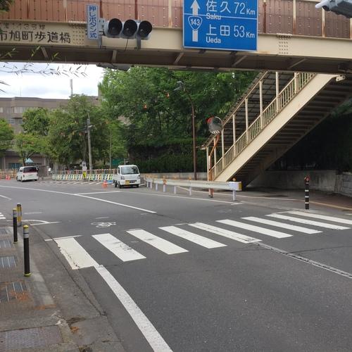 大学前歩道橋