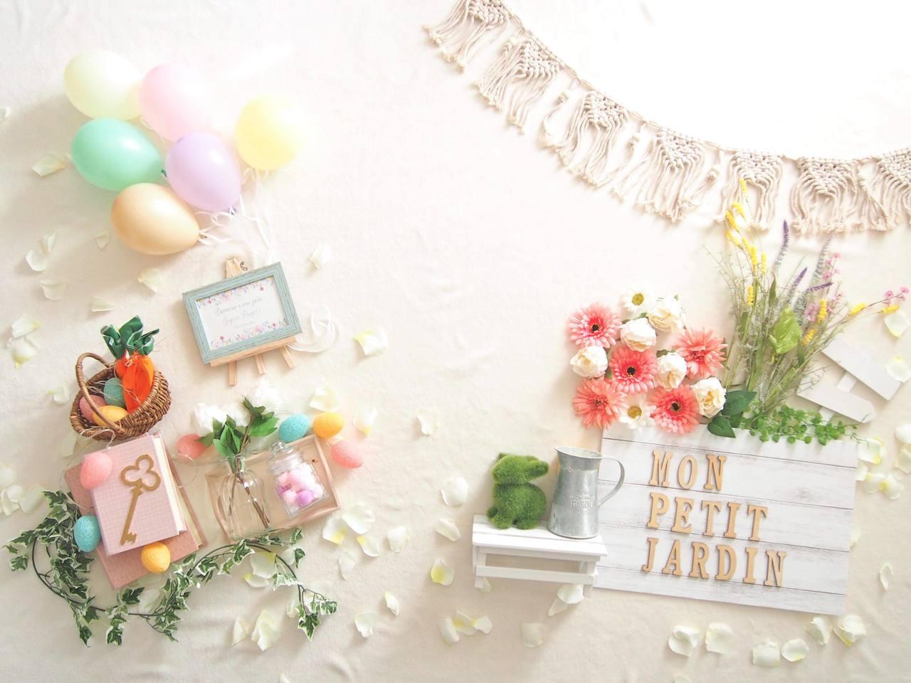 2/28 maman marche 【ねんねアートフォトブース】- mon petit jardin -