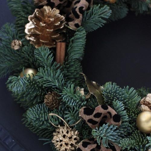 ドイツ仕込みのフレッシュモミの木 クリスマスリース  11月28日 (水)