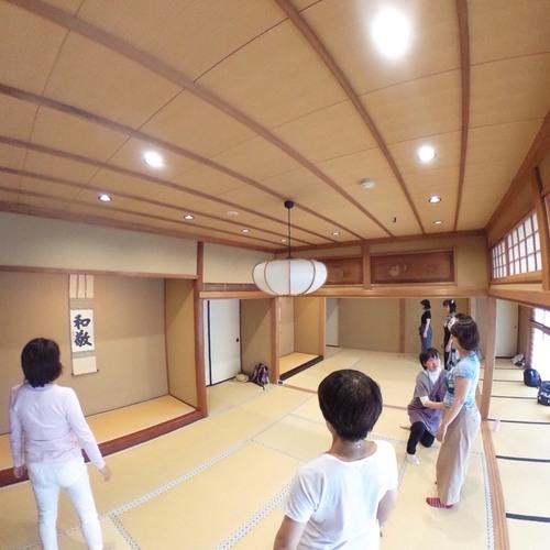 「こころとからだの気功」薬師寺東京別院にて