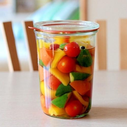 身近な野菜でピクルス作り