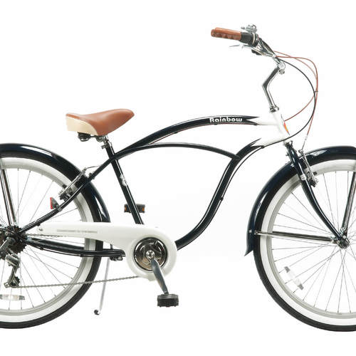 Rainbow Beach Cruiser / PCH 101 26″ 7D MEN'S [Navy x White]