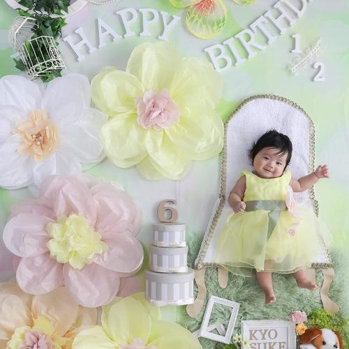 【100日&6ヶ月&1歳】アニバーサリーおひるねアート撮影会 / やすだ先生