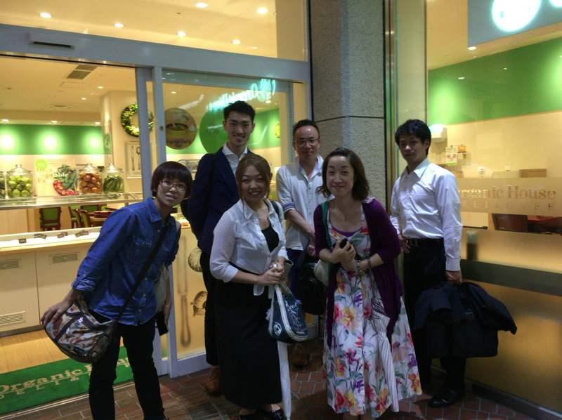 オーガニック健康ランチカフェ会(新宿)