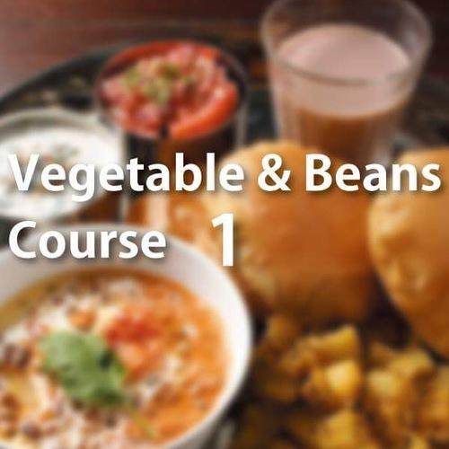 ベジタブル&ビーンズコース 12月 ミックス野菜カレー