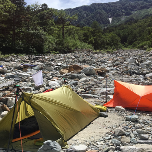 【5/15(水)】 超軽量コンパクトなテント「ツエルト」を使いこなす、快適ツエルト泊のコツ講習会