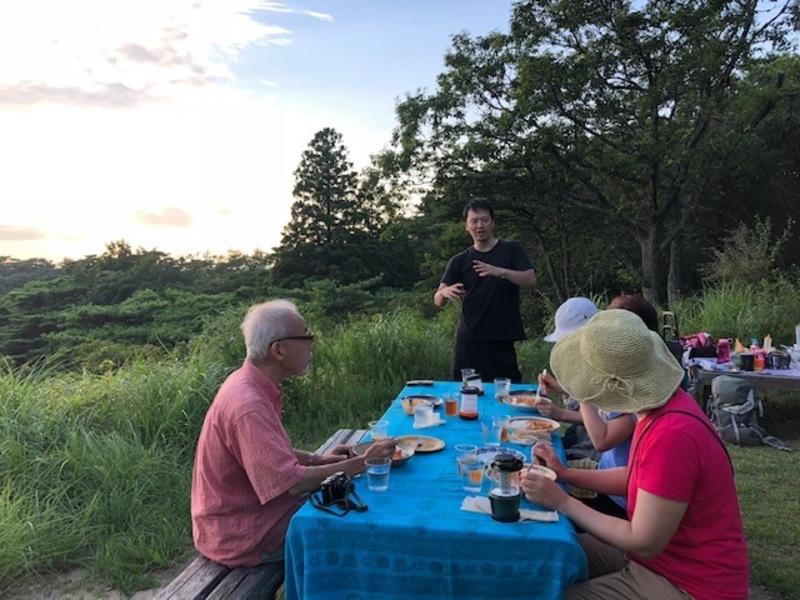MOTOKOTOクラブ「トワイライトピクニック&山上カフェ」