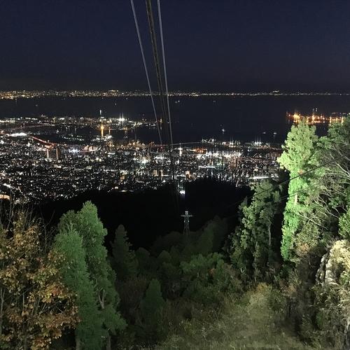 山撮り写真教室「夜景とロープウェーを撮ろう」