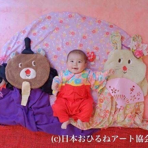 江戸川区の隠れ家カフェ だんご三兄弟おひるねアート撮影会