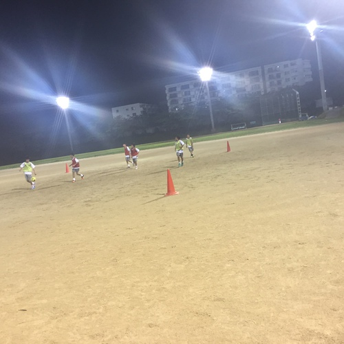 選抜クラス 練習試合 8人制 6年生対象
