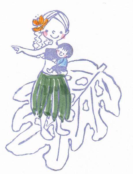 ヤマキン親子フラ&ハワイアンリトミック @山城勤労者福祉会館