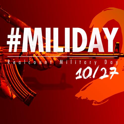 ミリタリーデイ 武装組織 #MILIDAY