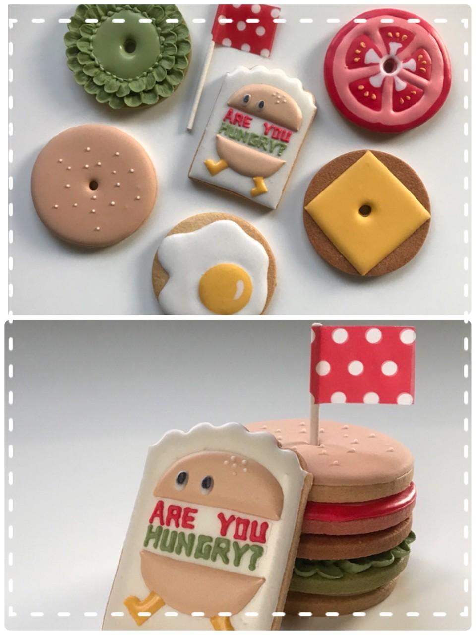 9月☆ママのアイシングクッキー教室♪『Are you hungry?』