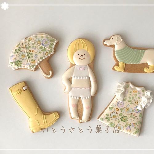 ママのアイシングクッキー教室♪5月『雨降りでも楽しいアイシングクッキー』