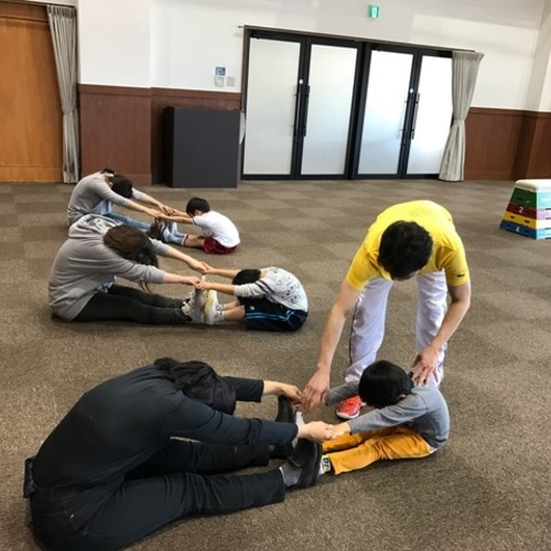 ジョージ先生の2~3歳児親子体操教室@神戸市須磨区