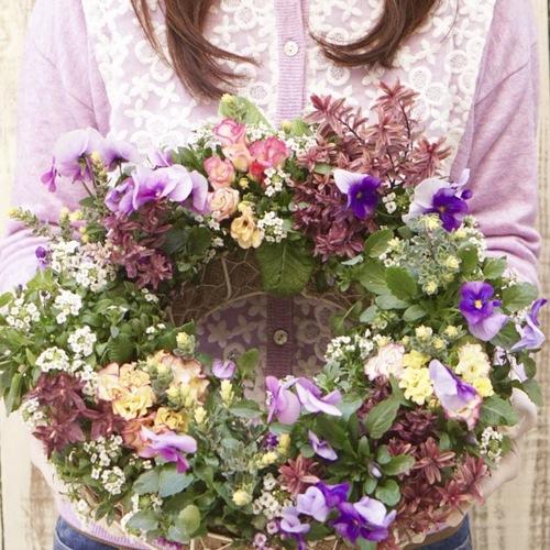 【秋冬限定!リースギャザリング体験レッスン】~花束みたいな新しい寄せ植え~プランツ・ギャザリングコース【大阪 八尾教室】
