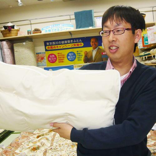 オーダー枕・寝具のご相談・オーダー枕の調整のご予約