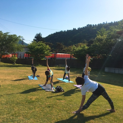 6/8(土曜日)梅雨前の鳴子温泉でTHE★外yoga