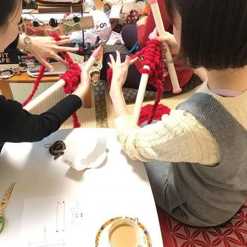 1月31日 ニットカフェ 開催