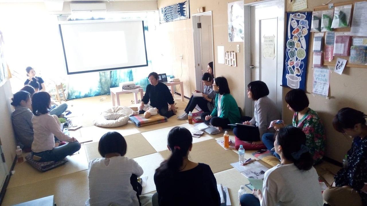 助産師三宅はつえさんの私流「やって楽しい見て楽しい 参加型マタニティクラス」講座 第4回