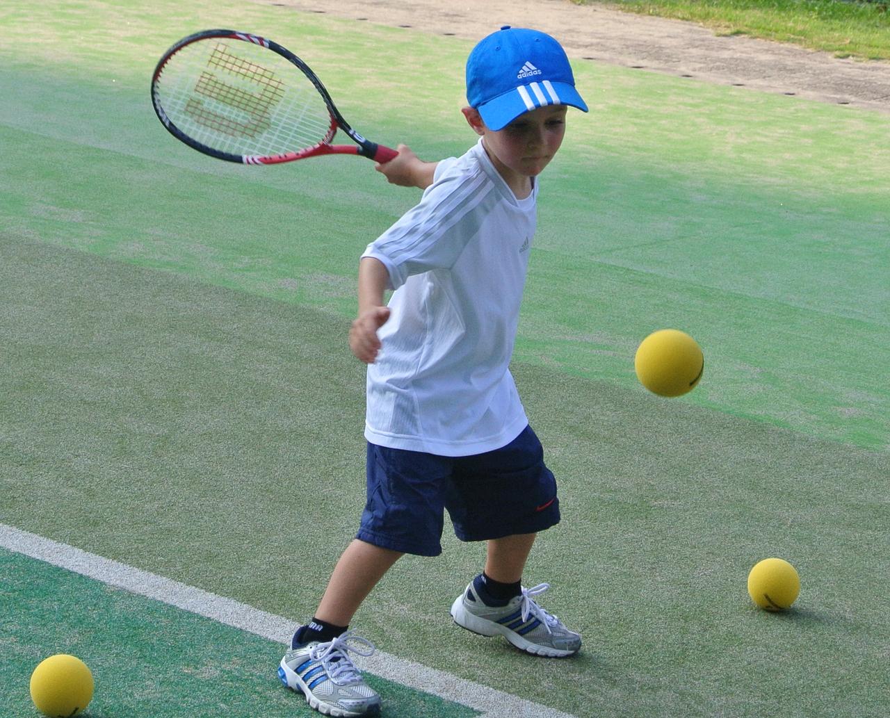 [4歳-7歳]ENJOY TENNIS6月