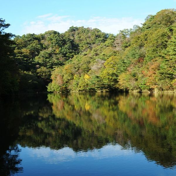 山撮り写真教室「秋の写真散歩@摩耶 - 穂高湖と天狗塚 -」