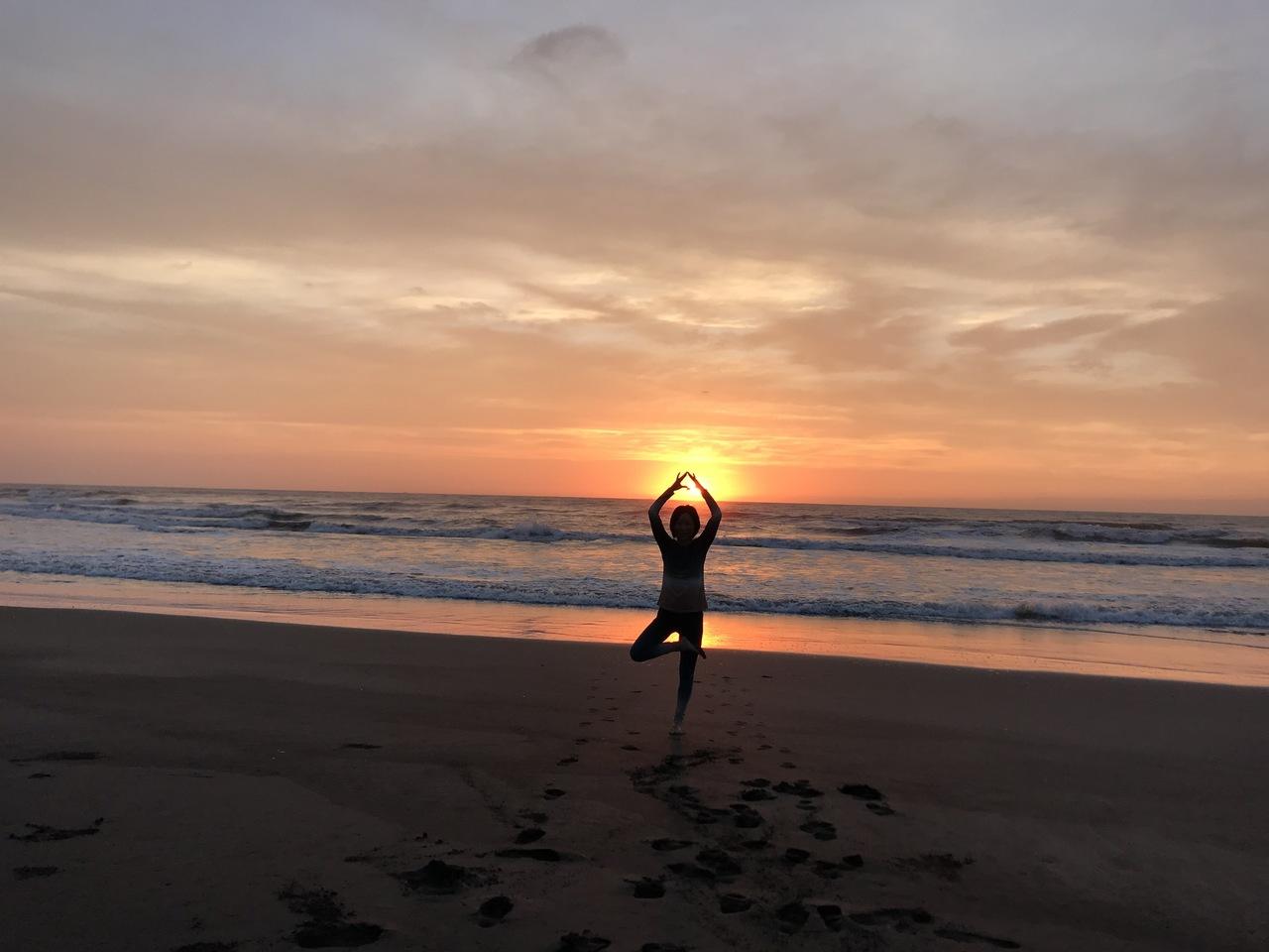 private BEACH YOGA RETEAT 2泊3日
