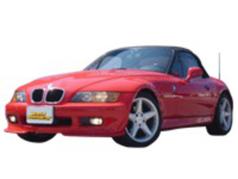 BMW Z3 オープンカー レッド (右ハンドル)