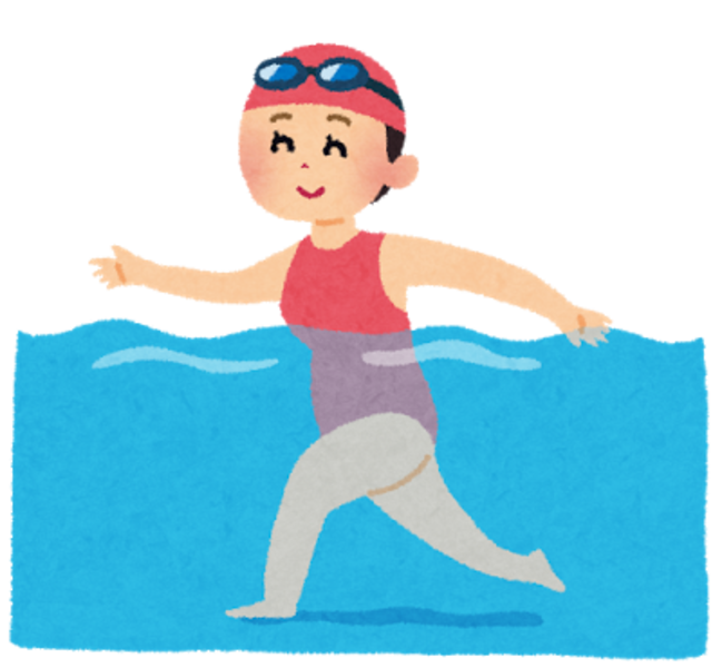 -終了-水中エクササイズ教室 1/29(月)19:00〜20:00