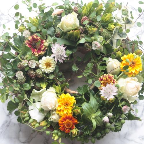 6月の季節のワークショップ(生花)