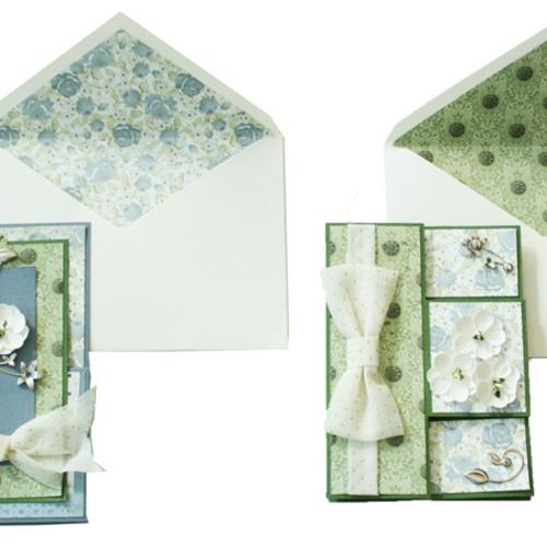 NEW!!【パピエリウムクラフト】Elegant flower Card 10月3日(水)・7日(日)