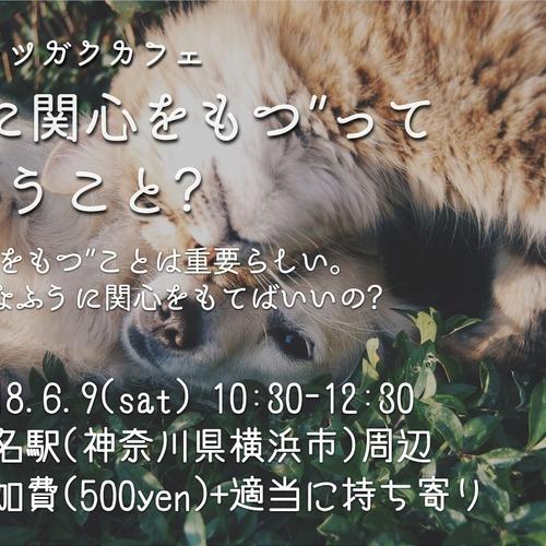 """【哲学カフェ】""""他者に関心をもつ""""ってどういうこと?【6/9@菊名】"""
