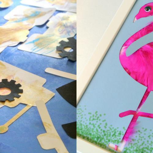 [2歳]飾れる作品を造ろう!Babyアート☆Weather(天気) 9月