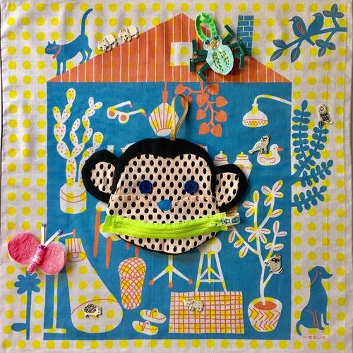【紙博 & 布博 in 京都】ひびのこづえ「ちいさな生きものブローチ作り」