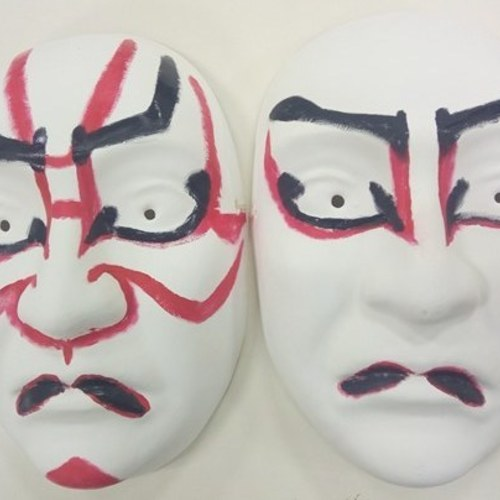 Experience of traditional Japanese dance & Kabuki make-up