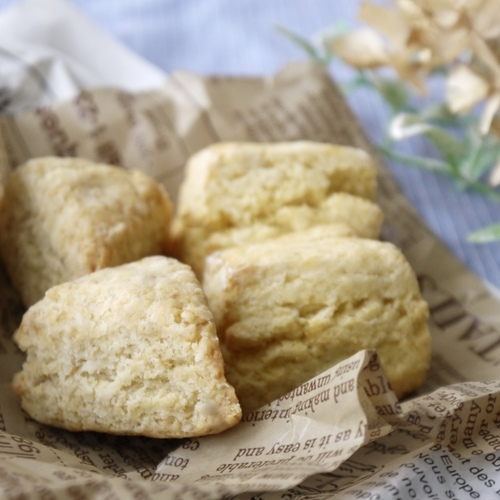 【 2種の米粉スコーン〜Rich Butter Scones & Vegan Scones〜 】