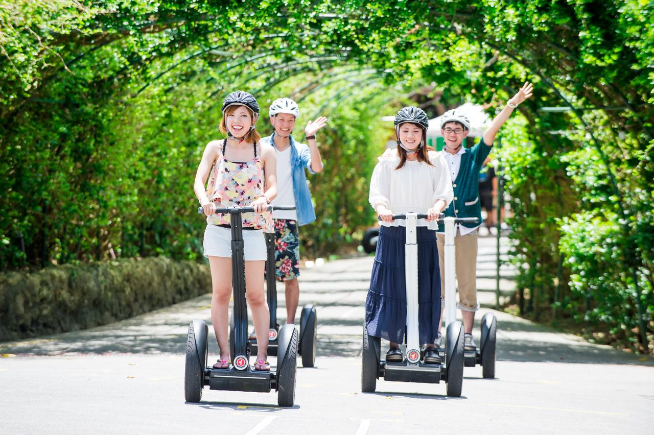 セグウェイ おきなわワールド・ガイドツアー/ガイドが園内を案内するスタンダードツアー