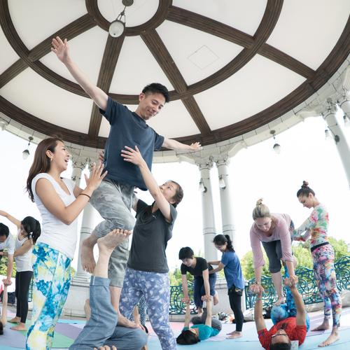 【 6 /20 開催】アクロヨガ体験会 @yoga life 南青山