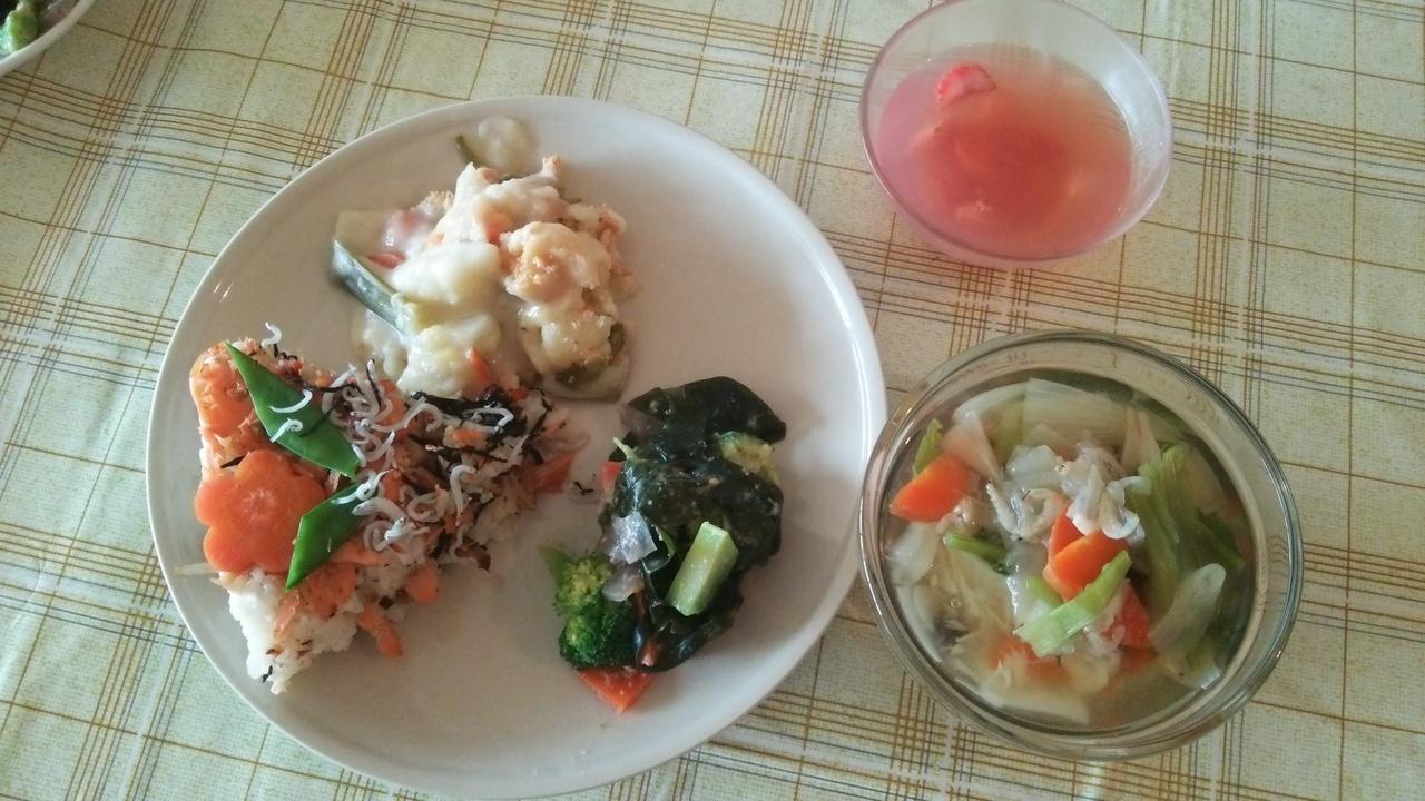 2/24・2/27食育特別講座「ひなまつり&お祝いレシピの会」