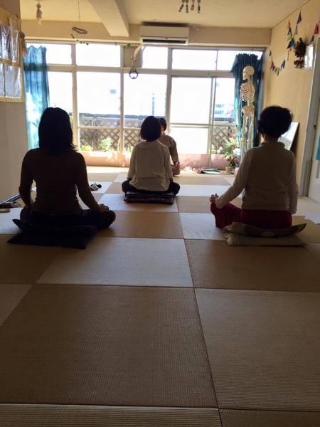 瞑想会 ~身体の軸を整えたいかたへ~